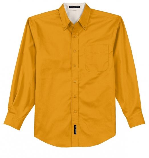 Port Authority Tall Long Sleeve Easy Care Shirt Mediterranean Blue