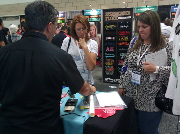 Rhinestone and Embroidery Trade Show