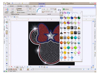 Hotfix Era Hotfix Rhinestone Stencil Software