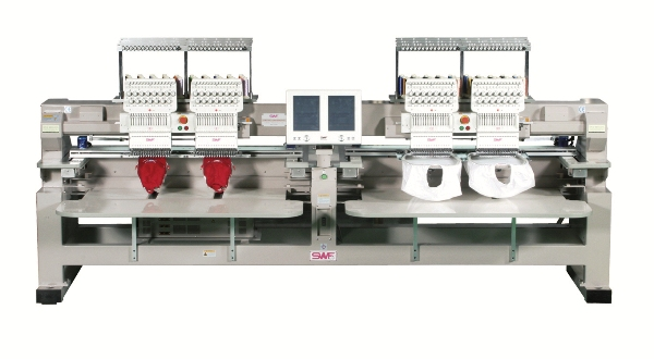 Commercial embroidery machines can make custom patches easily!