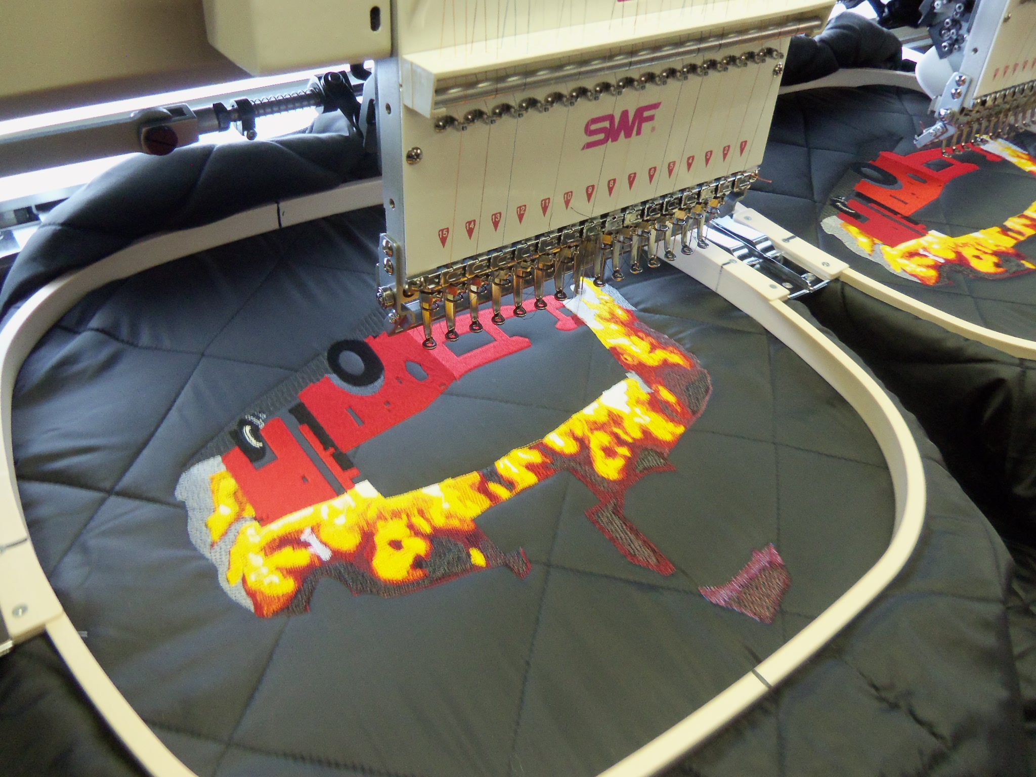 Having the right commercial embroidery machine can make all the difference!