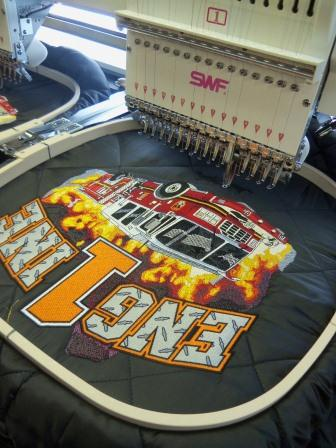 Complex commercial embroidery designs pose many opportunities to fix minor mistakes