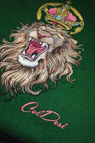 Embroidery Lion Digitizing