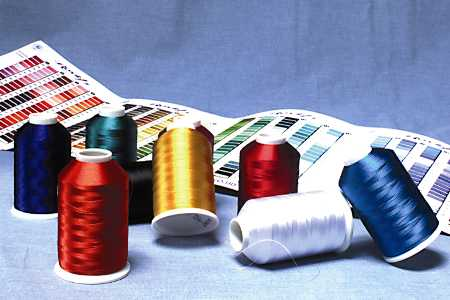Royal embroidery thread and other supplies are the secret to success in commercial embroidery.
