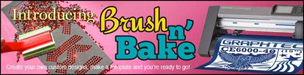 Brush-N-Bake Hotfix Rhinestone Kit