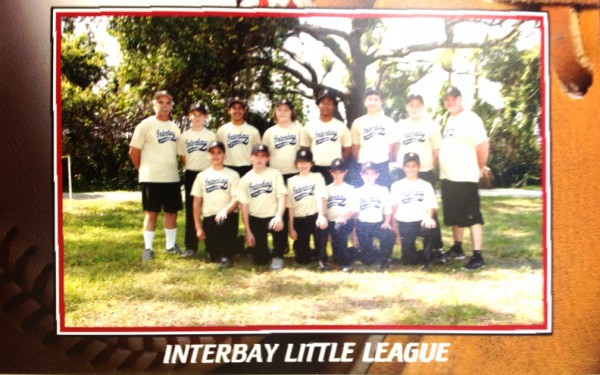 InterBay Little League Team