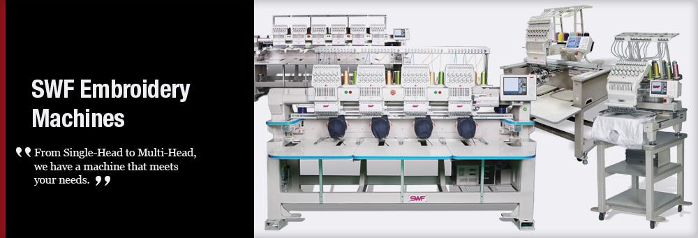 Single Head Embroidery Machine Options