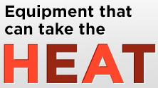 Geo Knight Heat Presses can take the heat