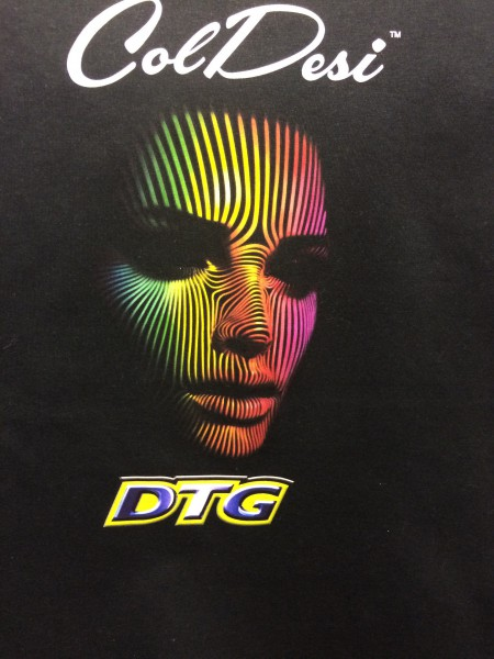 DTG Printed Face