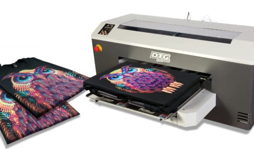 image of the DTG vs the T-Shirt Transfer Paper Printer