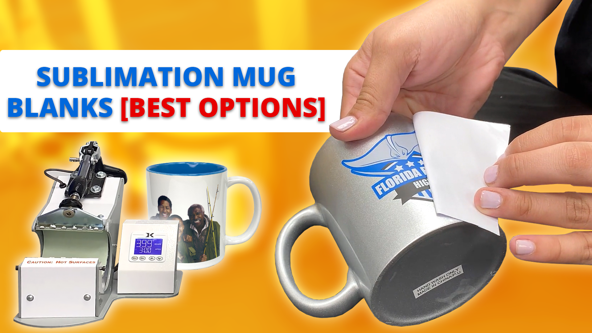 sublimation mug blanks best options