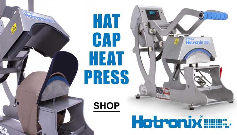 Cap Heat Press Hotronix